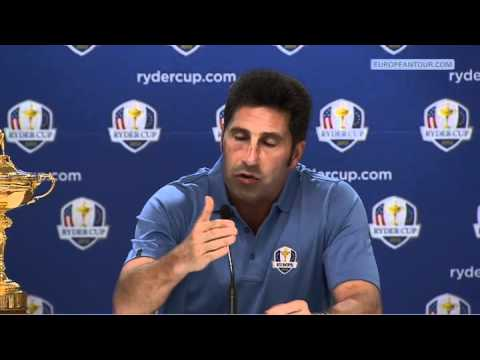 Jose Maria Olazabal Ryder Cup Press Conference - January 2012