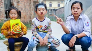 Trò Chơi Bé Giả Ốm Ăn Kẹo Chupa Chups - Bé Nhím TV - Đồ Chơi Trẻ Em Thiếu Nhi