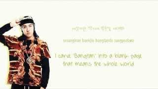 BTS (방탄소년단) - 길 (Road/Path) [Color coded Han|Rom|Eng lyrics]