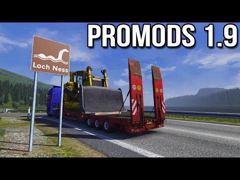 ProMods 1.9 (Euro Truck Simulator 2)