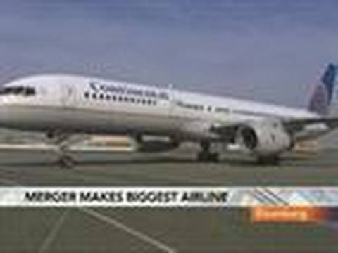 United, Continental to Merge, Forming Biggest Airline: Video