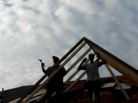 Asphalt Shingle Roof And Dormer Construction Youtube