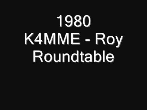 K4MME - Roy in round table QSO on 20 meters in 1980