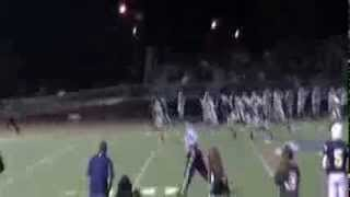 Kick Off Returned For 95 Yards #8 Liam Saito -Leland Charger's 2013 CCS Playoff!