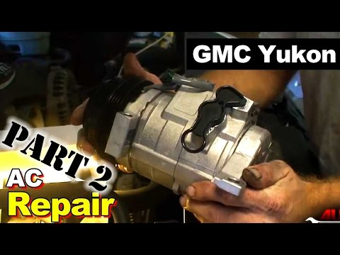 2003 GMC Yukon AC Compressor and Accumulator Repair Part 2: Accumulator