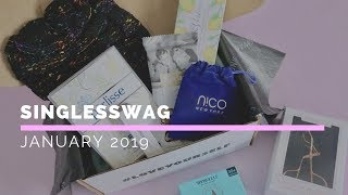SinglesSwag Review January 2019: Lifestyle Subscription Box