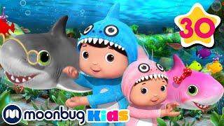 Baby Shark Song | Nursery Rhymes and Cartoons for Kids | Little Baby Bum #babyshark
