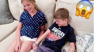 KIDS GET IN TROUBLE | slumber party with cousins