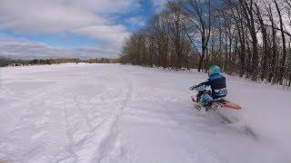Snow Things - KTM 300 with Savage Snowbikes Kit! (FPV, Phanotm 4 Pro)