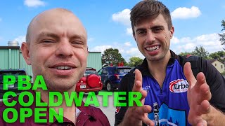 "PBA Coldwater Open| Kyle ""shifting"" the Bowling Lane"