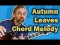 Easy Autumn Leaves Chord Melody And Quick How To Play mp3