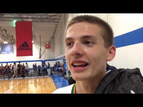 2016 guard Kyle Guy after Indianapolis adidas Gauntlet