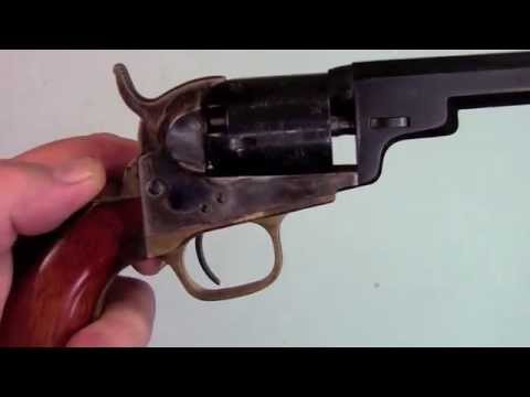 Shooting Colts 1849 Pocket Revolver.mov