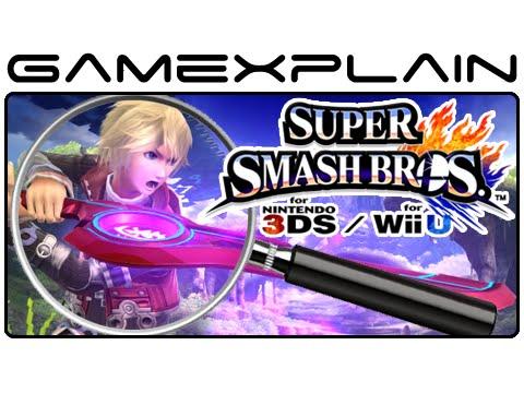Super Smash Bros Analysis - Shulk Reveal Trailer (Secrets & Hidden Details)