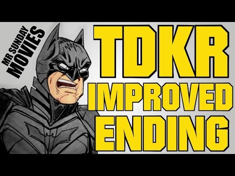 THE DARK KNIGHT RISES Improved Ending The Weekly Planet Animated