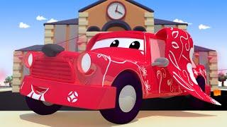 Jeremy xe TAXI là chú CHÓ trong ngày năm mới !  - cửa hàng sơn của Tom 🎨 những bộ phim hoạt hình về