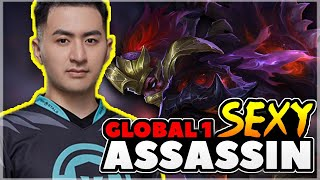 🔴GIVEAWAY | Global 1 Hanzo Re-Grind Day 5 | Ass Dave | Mobile Legends