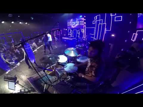 Falling into You by Hillsong Young & Free - Drum Cam w/ Click Track