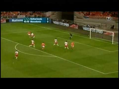 Netherlands - Macedonia 4-0 All Goals & Highlights [High Quality]