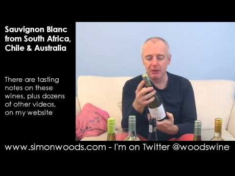 Wine Tasting with Simon Woods: Sauvignon Blanc from Australia, South Africa & Chile