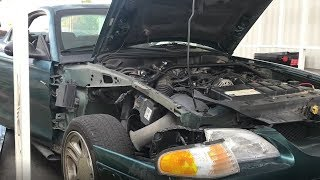 Drift Car Gets A New Fender!!!!