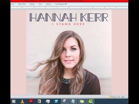Hannah Kerr - I Stand Here (Lyrics)