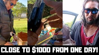 How To Make Almost $1000 In One Day From Garage Sales