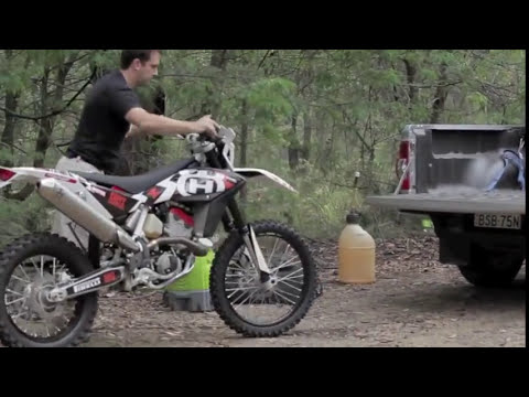 2011 Husqvarna TE 449 ADB feature preview by Adam Riemann