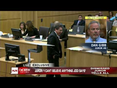 Juror #8 from Jodi Arias Trial on Dr. Drew 05-15-13 discusses his experience