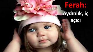 DİNE UYGUN KIZ BEBEK İsimleri ve En Tarz Kız Bebek İsimleri,Modası Geçmeyecek Farklı İsimler,