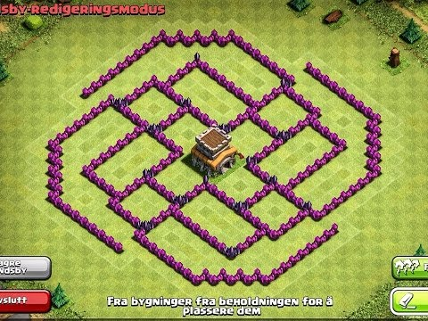 EPIC TOWN HALL 8 (TH8) Trophy Base - The Ball - Clash Of Clans [Awesome Design]