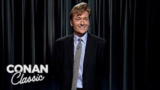 "The First Episode Of ""Late Night With Conan O'Brien"""