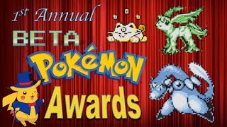 The Gold and Silver Beta Pokemon Awards Ceremony
