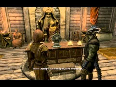Skyrim Wedding Scouts Many Marshes Youtube