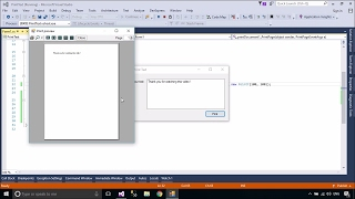 C# Tutorial - Print Text in a Windows Form | FoxLearn