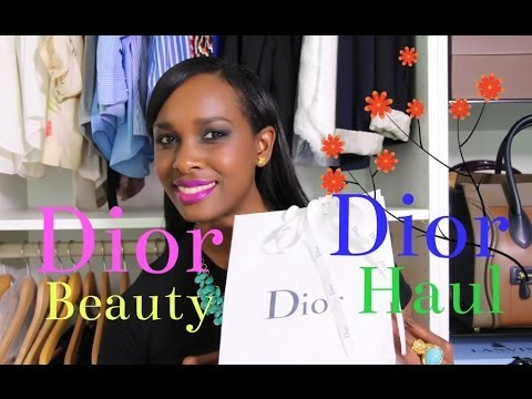 Dior Beauty Haul