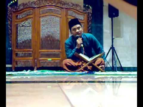 Ustad,rohani Lagu Nahawan Dimasjid Agung Jawa Tengah video