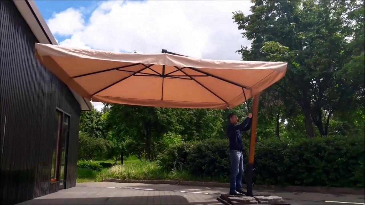 Как сделать зонтик для дачи 150