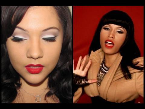 "Nicki Minaj ""Your Love"" music video inspired makeup. Aug 9, 2010 9:40 PM. Follow here: twitter.com Look here: biancablovesu.blogspot.com Music Video here:"
