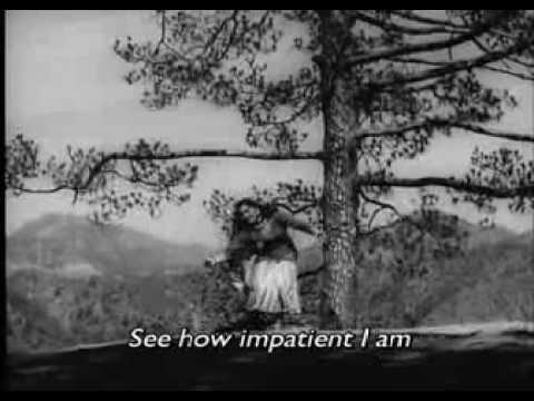 Vyjayanthimala Dance: Madhumati ghadi Ghadi Mora Dil Dhadke - Lata Mangeshkar [english Subtitles] video