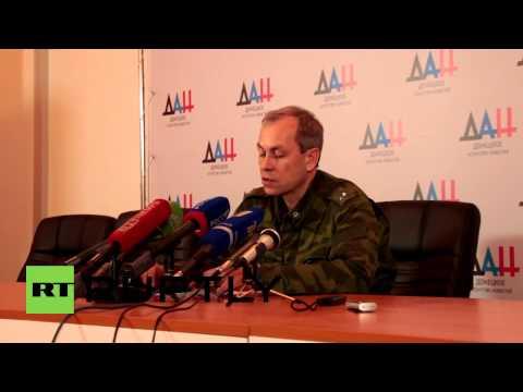 Ukraine: 'Bodies at Donetsk airport dressed in NATO uniforms' - DNR's Basurin