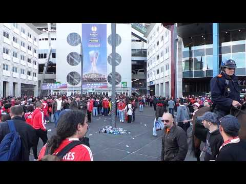 Before Match 2  Europa League 2013 Benfica - Chelsea