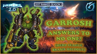 Grubby | Heroes of the Storm 2.0 - Garrosh Answers to No One! - 2017 S2 - Braxis Holdout