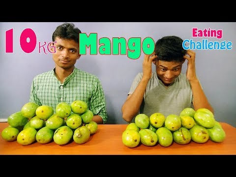10 Kg Mango Eating Challenge  Food Challenge India  Craziest Food Competitions