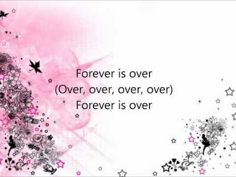 The Saturdays - Forever Is Over Lyrics video