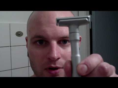 DE razor shave