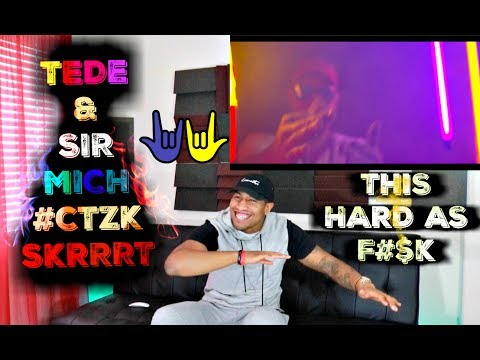 First Reaction To Polish Hip Hop/Trap/Rap TEDE & SIR MICH - #CTZK ⁄ SKRRRT ⁄ 2017 Reaction