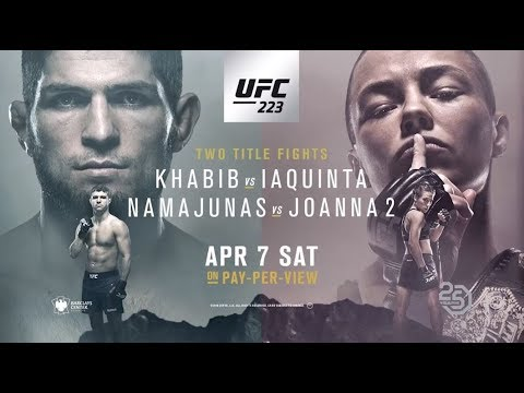 UFC 223: Khabib Vs Iaquinta
