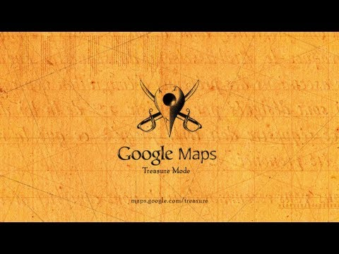 Explore Treasure Mode with Google Maps