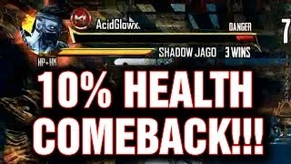 BEST COMEBACK IN KILLER INSTINCT!! 10% HEALTH!!